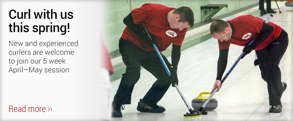 Join Us for 5 Weeks of Spring Curling